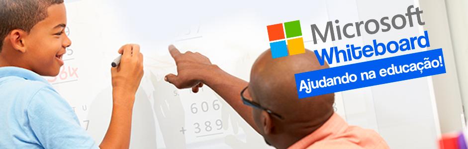 Microsoft Whiteboard: Nova solução para escolas